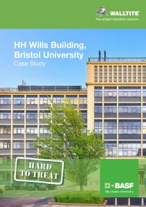 HH Wills Building, Bristol University, United Kingdom project