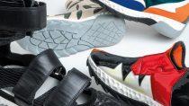 Ukázky návrhů obuvi od studentů designu