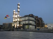 LanzaTech's commercial facility with steel producer Shougang in China, converting steel mill emissions into ethanol.