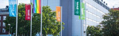 Das aktuelle Foto: BASF zeigt Flagge