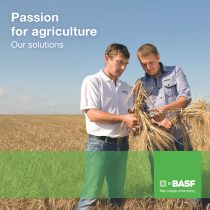"BASF Crop Protection brochure<br />""Passion for agriculture"""