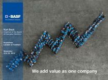 BASF Capital Market Story