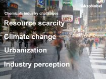 Chemicals industry challenges