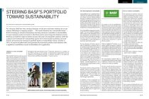 Article: Steering BASF´s Portfolio toward Sustainability
