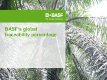 BASF traceability percentage