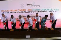 Groundbreaking ceremony of BASF PETRONAS Chemicals' 2-Ethylhexanoic acid production plant in Kuantan, Malaysia.