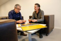 Hans-Kristian Knobel, Sales Manager Construction Systems, BASF and Tom Haarsaker, manager at Minor Industriplast AS chose MasterTop 1327-20dB for the refurbishment of the company's office rooms. The new flooring system significantly reduces impact noise, is comfortable under foot, extremely durable, and will look good throughout its service life.
