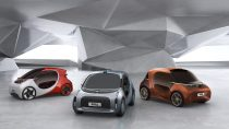 Konzeptfahrzeuge für die Mobilität der Zukunft gemeinsam von BASF und GAC R&D Center entwickelt / Concept cars for future mobility co-developed by BASF and GAC R&D Center