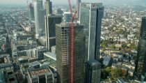 Master X-Seed technology was successfully applied for the construction of the Marienturm, an office tower under construction in Frankfurt/Main.