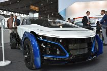 The DLR-Concept car SLRV at the Composites Europe 2019