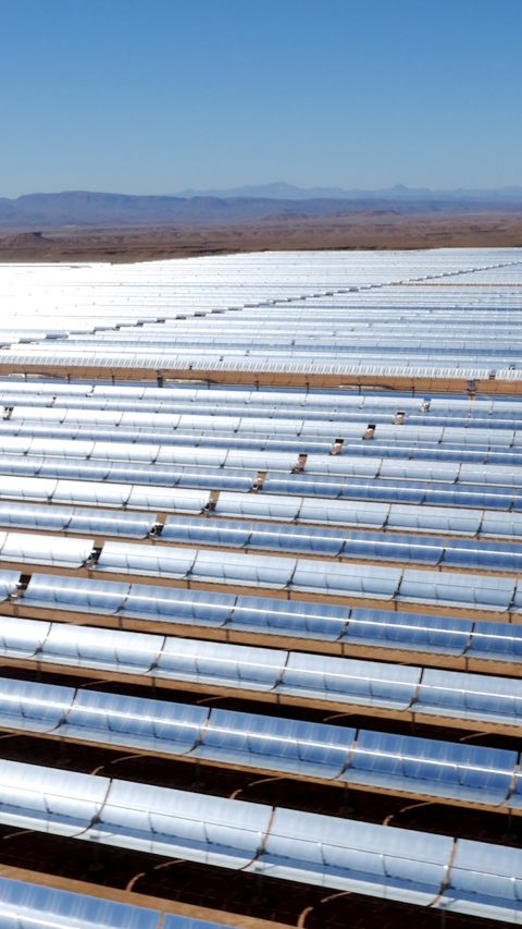 The Noor Solar Power plant in Morocco is planned to deliver from four generating units an installed power of 580 Megawatt at its final stage. BASF's Construction Chemicals division supports the installation with special grouts and sealants.