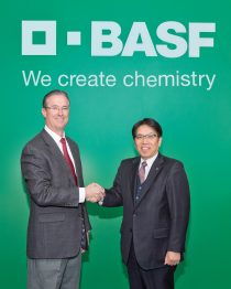 BASF and TODA closed the agreement to form BASF Toda America LLC on March 7th in Iselin, New Jersey.