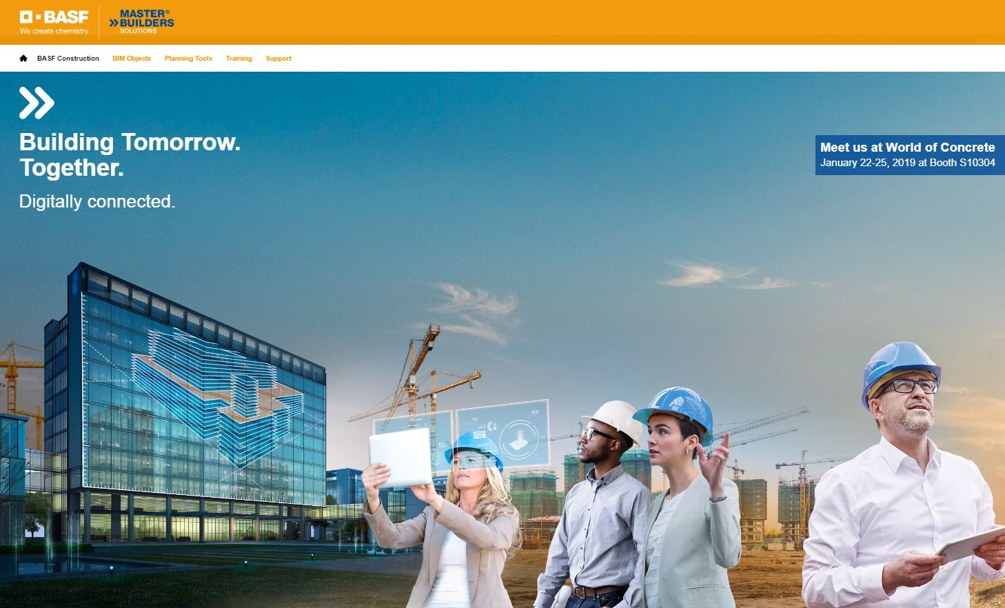 BASF launches Virtual Design and Construction (VDC) Resource