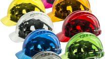 BASFの光安定剤を使用した半透明防護ヘルメット