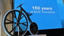 e-bike Concept 1865 – Rethinking Materials, unikátny bicykel prezentujúci najnovšie inovácie BASF v rámci mobility