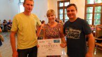 S víťazkou v sekcii Trvalo udržateľný rozvoj Kristínou Nagyovo