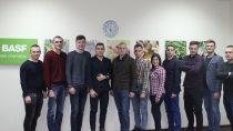 Команда стажерів BASF 2017-2018