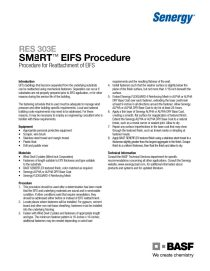 Procedure for Reattachment of EIFS