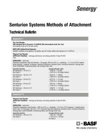 Senturion Systems Methods of Attachment