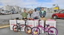 BASF donates hundreds of toys to Chattanooga area families through U.S. Marine Corps Reserve Toys for Tots Program