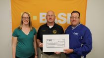 BASF donates $2,500 to local emergency planning committee